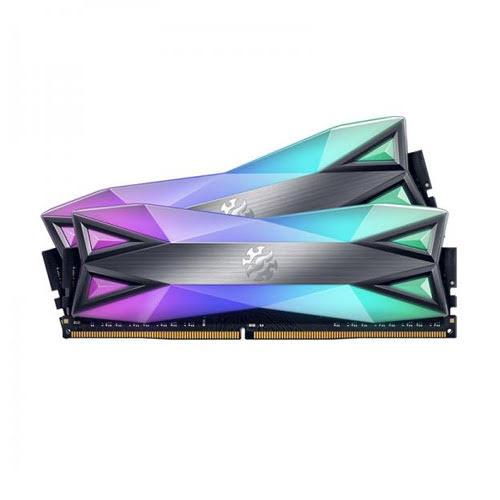 ADATA XPG Spectrix D60G 32GB (2X16GB) 3200MHz DDR4 RGB Ram AX4U3200316G16-DT60 image 1