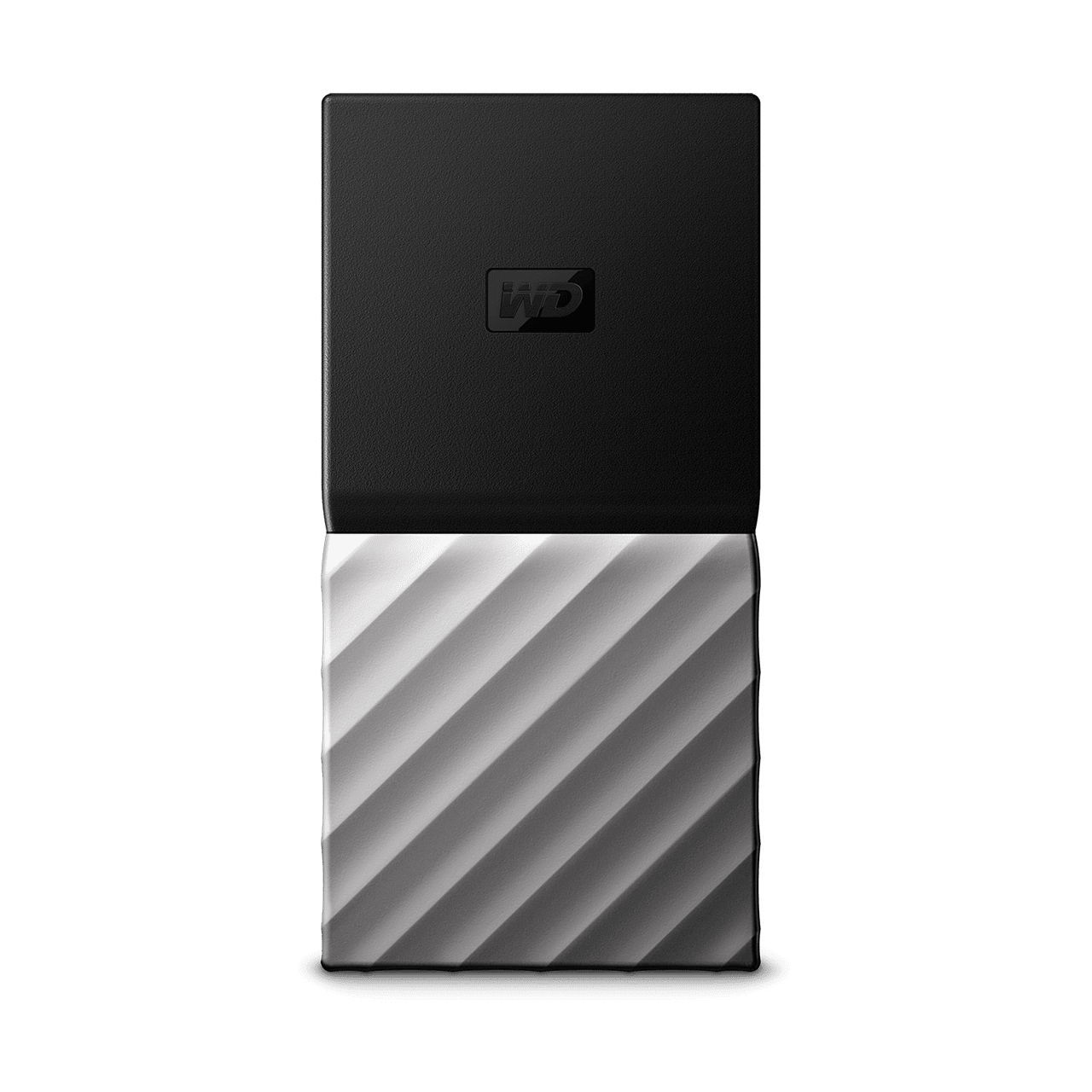 WD My Passport 2 TB Wired External Solid State Drive (Black, Grey) image 1