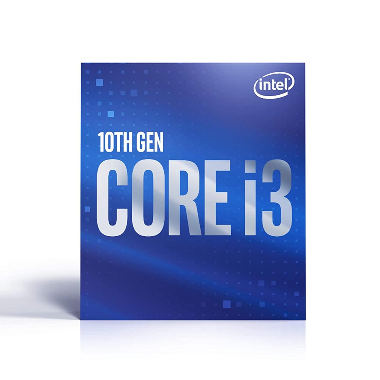 Intel Core i3-10100 Desktop Processor 4 Cores up to 4.3 GHz  LGA1200 (Intel 400 Series chipset) 65W