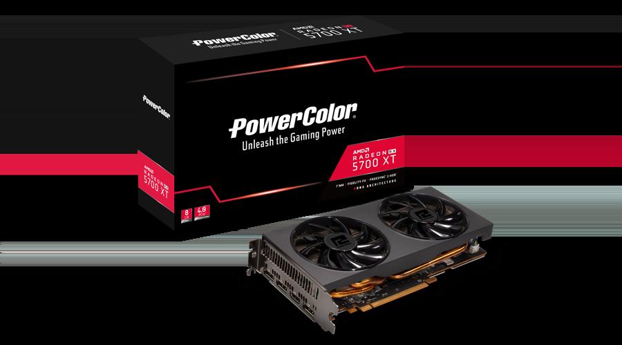 PowerColor Radeon RX 5700 XT 8GB GDDR6 Graphics Card
