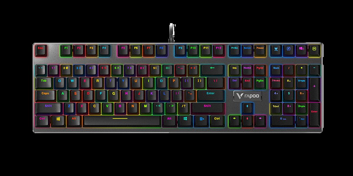 Rapoo V700 RGB Backlit Mechanical Gaming Keyboard