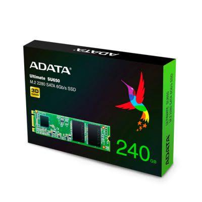 ADATA Ultimate SU650 240GB M.2 2280 SSD ASU650NS38-240GT-C image 3